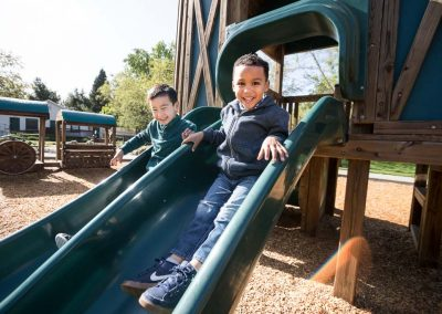 Boys at a playground in Danville California